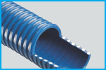 T1600 Blue OIL Resistant PVC Suction Hose (Medium Weight)